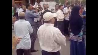 preview picture of video 'النقابي مول السمطة يقود وقفة احتجاجية بايت اعتاب بركة بركة من الفساد راكم شوهتو البلاد'
