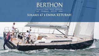 Solaris 47 (EMMA KETURAH)   Yacht For Sale   Berthon International Yacht Brokers