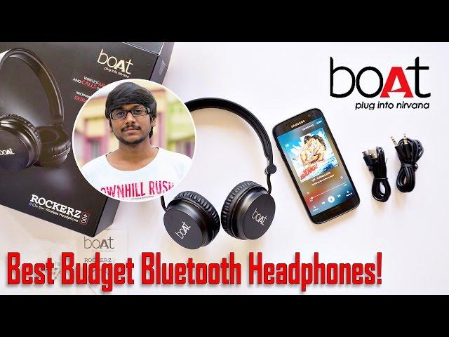 Best Budget Bluetooth Headphones? Boat Rockerz 400 Review!