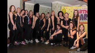 Zumba Team. Сафари 10 лет празднование в ночном клубе Музей