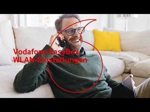 Vodafone EasyBox - erweiterte WLAN-Einstellungen