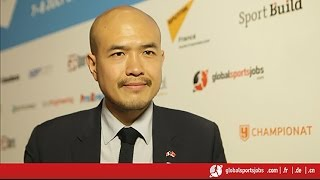 Romuald Nguyen, Fédération Française de Football (FFF), shares his aspirations with GlobalSportsJobs