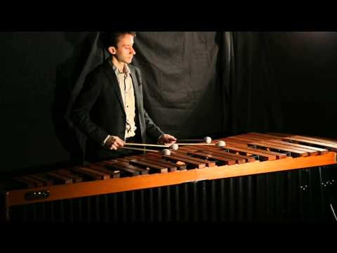Bach on the marimba