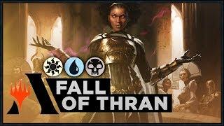 Kaya's Fall of Thran | Ravnica Allegiance Standard Deck (MTG Arena)