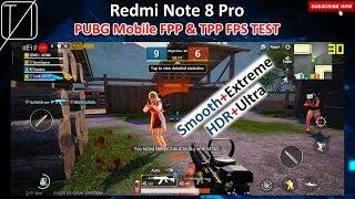 Redmi Note 8 Pro - PUBG Mobile FPS Test