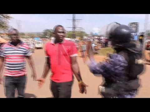 TTIYAGAASI E NJERU: Poliisi eremesezza Besigye okwetaaya