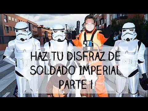 Cómo Hacer un Disfraz de Trooper o Soldado Imperial: Parte I ⭐️ I Craftabulous