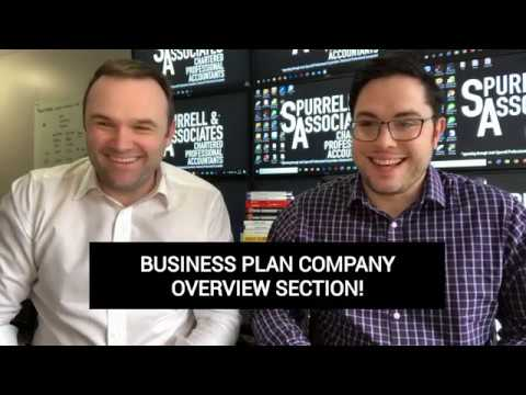 Business Plan Company Overview Section