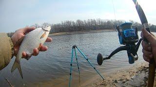 Рыбалка в начале марта 2020 на нижней москва-реке