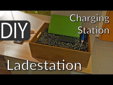 Smartphone & Tablet USB-Ladestation selber bauen | DIY