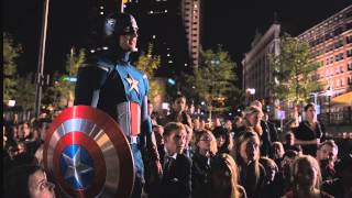 The Avengers - Captain America and Iron Man VS Loki | 1080pMovieClips