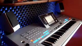 Modern Talking mix Yamaha tyros 4 Video