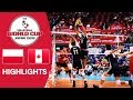 POLAND vs. CANADA - Highlights | Men's Volleyball World Cup 2019