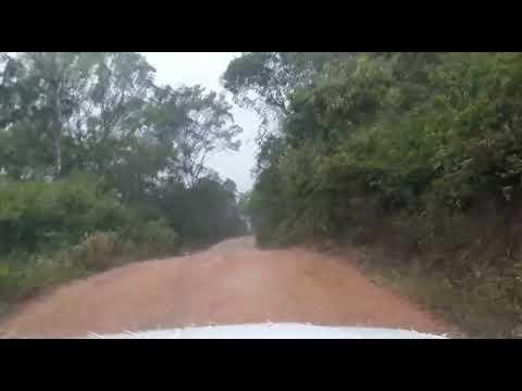 Chuva de granizo na região do Timbó em Amargosa