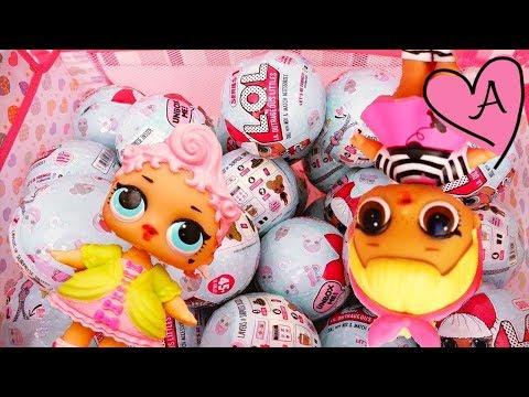 Muñecas L.O.L Surprise - Juguetes como huevos sopresa con bebes de juguete y sorpresas divertidas