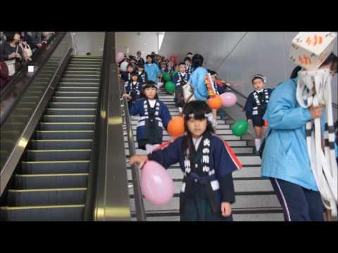笠間 友部 ともべ幼稚園 子育て情報「幼年消防パレード(年長)」