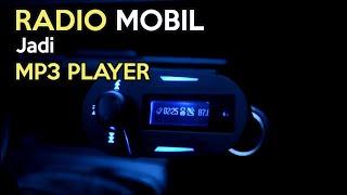 MP3 Player Modulator - Dengarkan Musik Di Mobil Langsung Dari Gadget, SD Card Dan Flashdisk