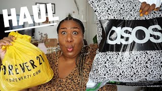HUGE FALL PLUS SIZE HAUL | ASOS CURVE + FOREVER 21 PLUS
