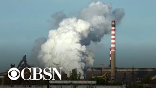 Scientists in Italy now say coronavirus has been detected in particles of air pollution, which allowed it to be carried over long distances. Chris Livesay reports on the new findings and what they mean.