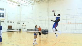 Patric Vs. Volleyball