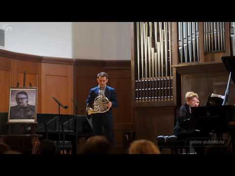 Розетти - Концерт для валторны с оркестром ми-бемоль мажор, часть I