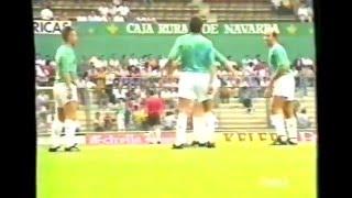 Osasuna 2 - Albacete 0. Temp. 91/92. Jor. 1.
