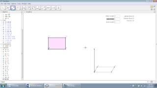 GeoGebra in Geometry: Rectangular Prism Calculator