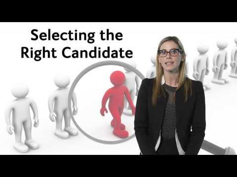 , title : 'The recruitment process