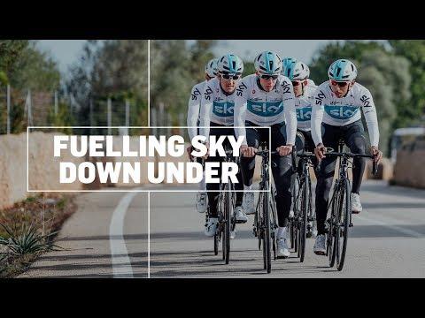 Fuelling Team Sky Down Under