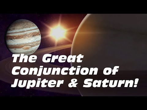 Jupiter and Saturn Align… The Great Conjunction 2020!