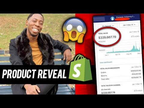 Revealing My Shopify High Ticket Dropshipping Products ( eCommerce Items 2019 )