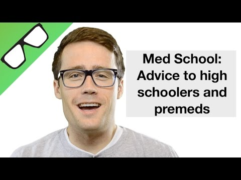 Med School:  My Advice to High School and Premed students