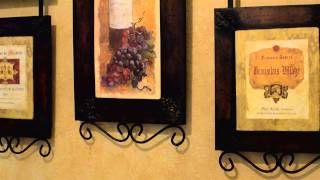 How To Decorate With Bronze Metal Wall Decorations : Simple Home Accents