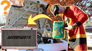 Will Engine OIL Work as Car Coolant?