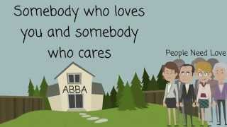 ABBA - People Need Love - Lyrics