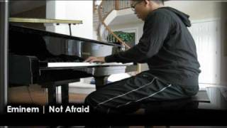 Not Afraid • PIANO COVER • Eminem  • Recovery Album Lyrics