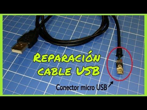 CÓMO REPARAR UN CABLE USB (USB B, MICRO-USB, MINI-USB)