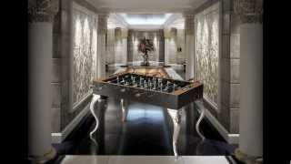 LUXURY FUSION  AND ARTISTIC DESIGN BASES FOR BILLIARDS AND CAVICCHI FOOSBALL MOD. OPERA EXCLUSIVE