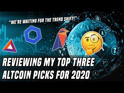 Analyzing Altcoins | Reviewing My Top 3 Coins