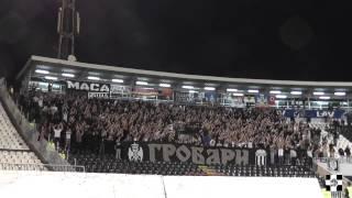 Zabranjeni na Partizan -Vozdovac 10.05.2014