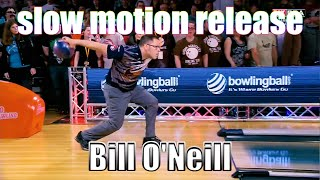 Bill O'Neill slow motion release - PBA Bowling