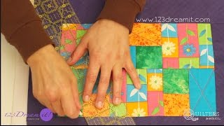 Tutorial Quilting - Mantelito individual