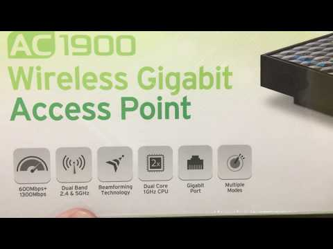 Tp-link AP500 Wireless Access Point Unboxing
