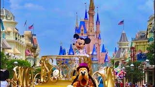 A Magical Magic Kingdom Day!   Walt Disney World   New Castle, Super Low Crowds, & COVID-19 Changes!