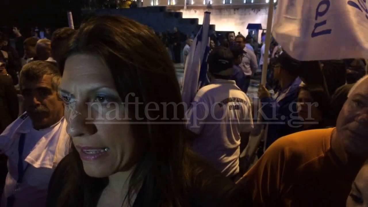 Ζωή Κωνσταντοπούλου: Είναι αυτονόητο ότι πρέπει να αντισταθούμε