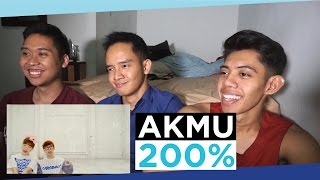 Gambar cover Indonesians React to K-Pop | AKMU - 200% (Non K-Pop Fan)