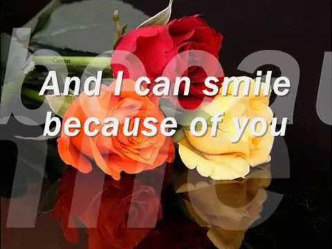 Because Of You  (Tony Bennet   Lyrics)