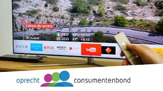 Samsung QE55Q7F televisie - Review (Consumentenbond)