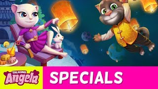 🌕 Moon Princess Talking Angela - The Legend of the Moon Festival