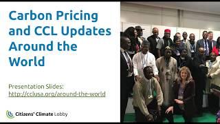 CCL Training: CCL International Updates Around the World